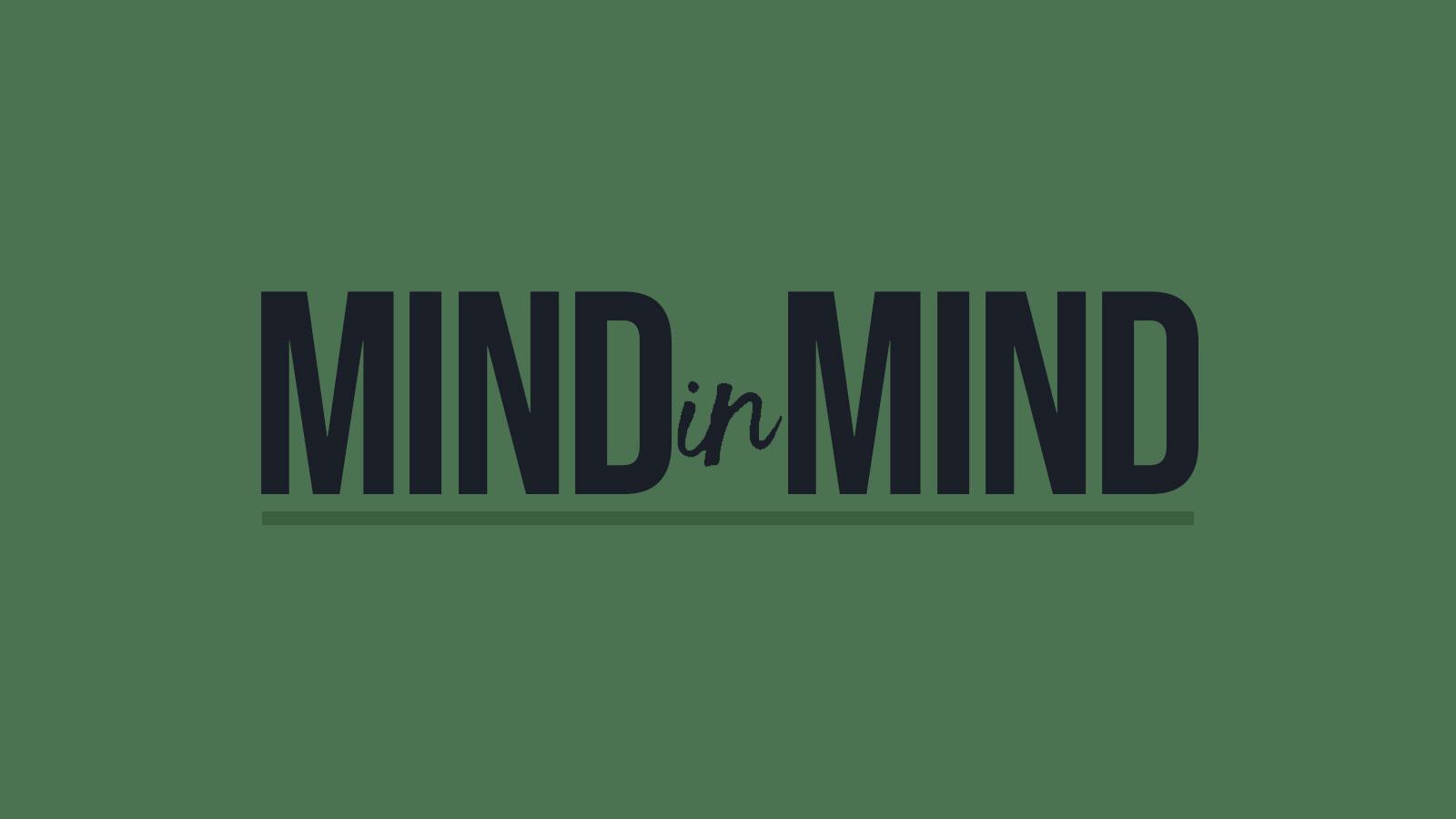 MINDinMIND logo on green background
