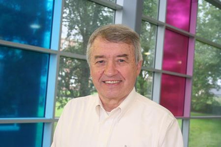 A photograph of Dan Hughes – clinical psychologist